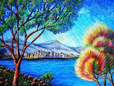 Painting - A La... by Viktor Lazarev