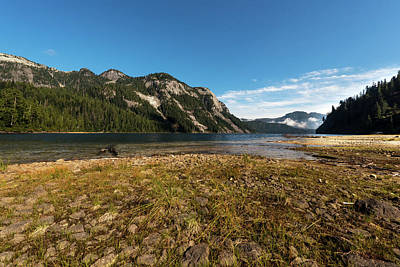 Photograph - A Lake In The Mountains by Sabine Edrissi