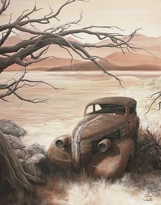 A Lakeshore Drive Art Print by Janice Smith
