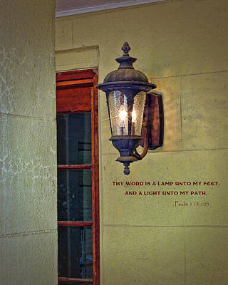 Photograph - A Lamp Unto My Feet by Larry Bishop