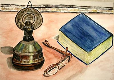 A Lampion. Art Print