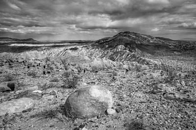 Photograph - A Land Untamed - Black And White by Alexander Kunz