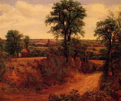 Painting - A Lane Near Dedham 1802 by Constable John