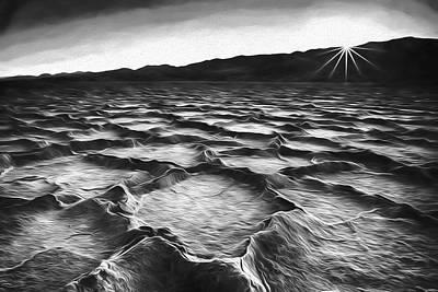 Death Valley Digital Art - A Last Moment II by Jon Glaser