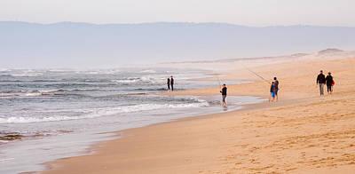 Photograph - A Lazy Walk On The Beach by Derek Dean