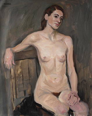 Painting - A Lean Arm Stretch by Robert Holden