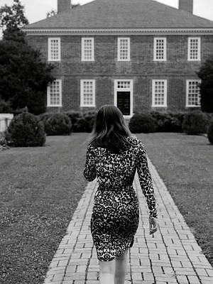 A Leopard Dress Print by Rachel Morrison