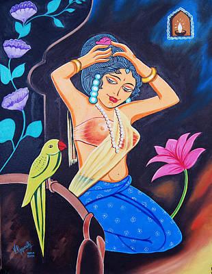 A Life In Colour Art Print by Ragunath Venkatraman