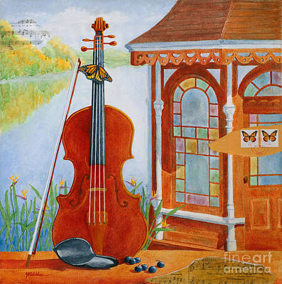 Painting - A Life Set To Music by Sandra Neumann Wilderman