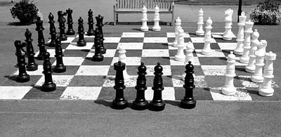 Photograph - A Life Time Game Of Chess by Danielle Allard