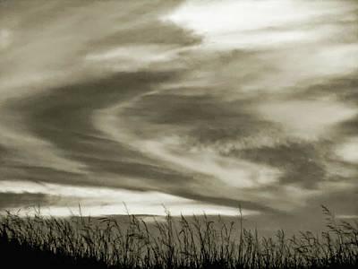 Sauble Beach Sunset Photograph - A Light Embrace by Steve Harrington