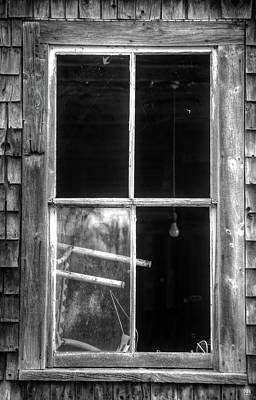 Photograph - A Light In The Window by John Meader