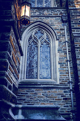Photograph - A Light Of The Duke Chapel  by Anthony Doudt