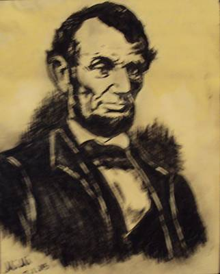 Painting - A. Lincoln by Mimi Eskenazi