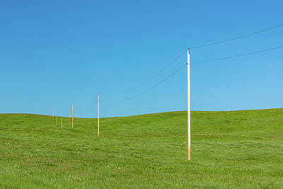 Photograph - A Line Divides by Todd Klassy