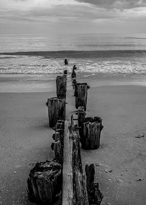 Photograph - A Line In The Sand by Heidi Hermes