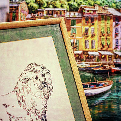 Photograph - A Lion In Venice by Lewis Mann