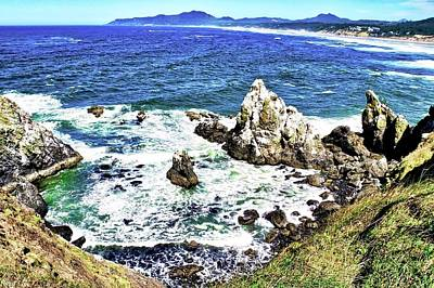 Photograph - A Little Bay On Oregon Coast by Kirsten Giving