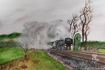 Painting - A Little Bit Country A Little Bit R And R by Carole Robins