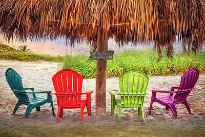 Jamaican Sunset Photograph - A Little Bit Of Island Attitude by Debra and Dave Vanderlaan