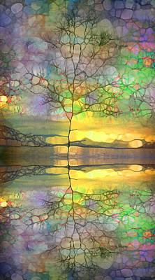 Hope Digital Art - A Little Bit Of Purple by Tara Turner
