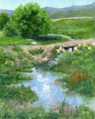 Painting - A Little Ditch by David King