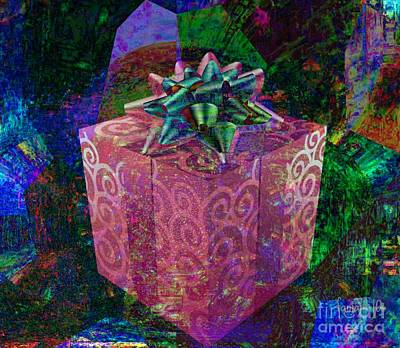 Visionary Art Display Digital Art - A Little Gift From The Heart by Fania Simon