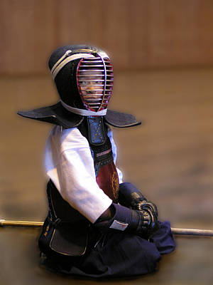 Photograph - A Little Kendo Warrior by Alexandra Jordankova