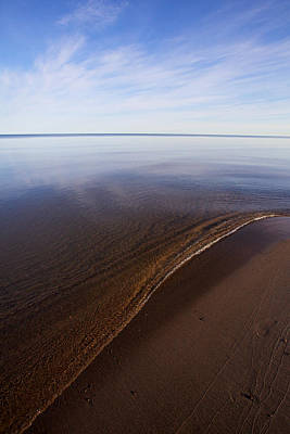 Art Print featuring the photograph A Little Lip, Lake Superior by Jane Melgaard