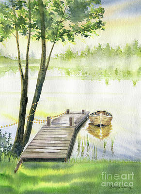 Painting - A Little Peace Of Mind by Melly Terpening