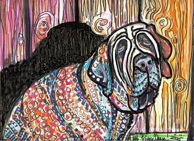 Folk Art Mixed Media - A Little Privacy Please by Robert Wolverton Jr