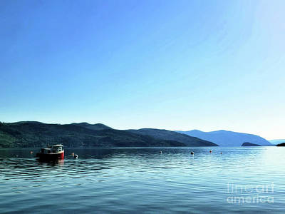 Photograph - A Little Red Boat by Victor K