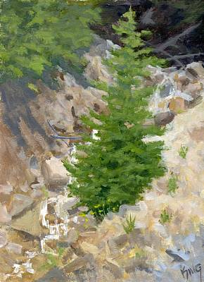 Painting - A Little Runoff by David King