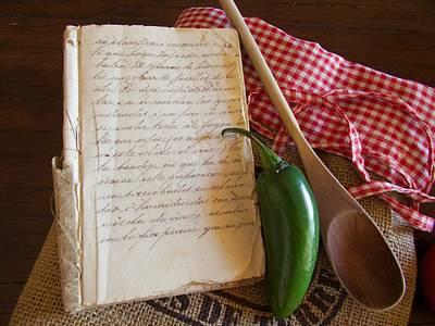 Cookbooks Digital Art - A Little Salt And A Little Pepper by Barbara Zahno