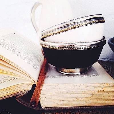 Ceramics Photograph - Bowls by Shireen Dhaliwal