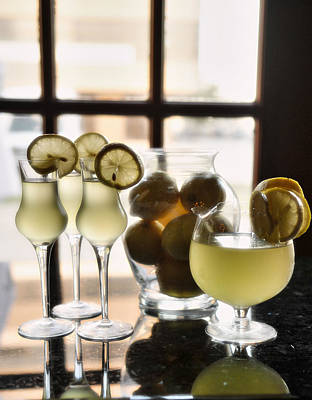 A Little Tast Of Italy Lemoncello Original by Alicia Morales