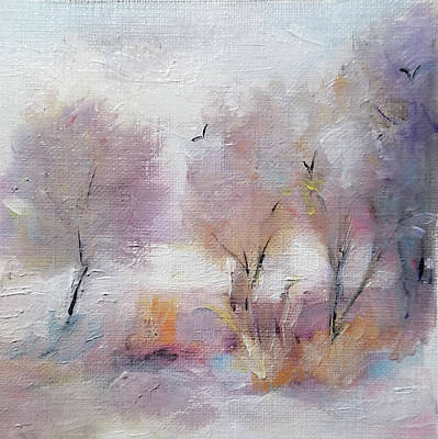 Painting - A Little Warmth And Light by Michele Carter