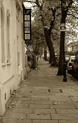 A London Street I Original by Ayesha  Lakes