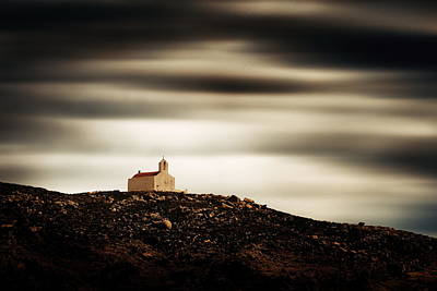 Photograph - A Lonely Church In Mykonos by Songquan Deng