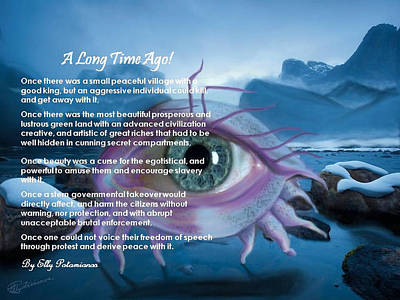 Digital Art - A Long Time Ago by Elly Potamianos