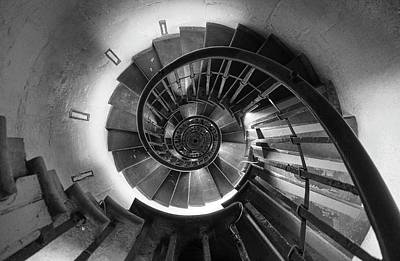 Photograph - A Long Way Down by Peter Thoeny