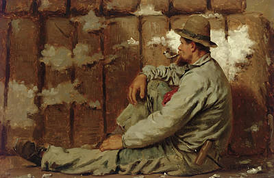 Bales Painting - A Longshoreman by John George Brown