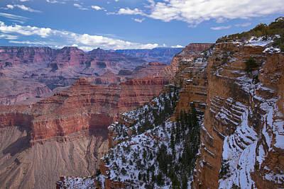 Photograph - A Look Across The Canyon by Dennis Reagan