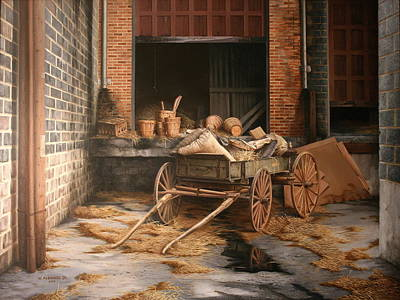 Painting - A Look At The Past by William Albanese Sr