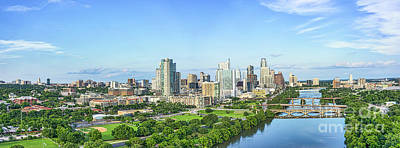 Austin Photograph - A Look Down The River by Tod and Cynthia Grubbs