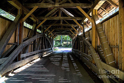 Photograph - A Look Inside The Sequin Bridge by Deborah Klubertanz