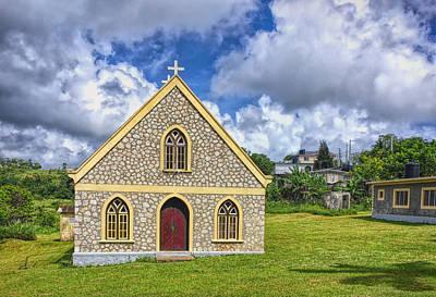 Photograph - A Lovely Jamaican Church by John M Bailey