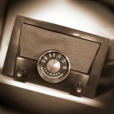 A M Radio Art Print