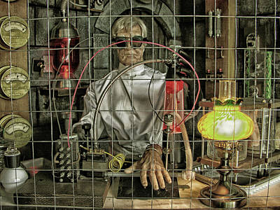 Photograph - A Mad Scientist by Mike Martin