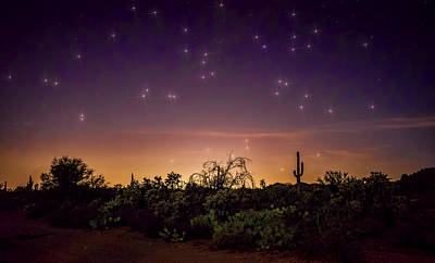 Photograph - A Magical Desert Night  by Saija  Lehtonen